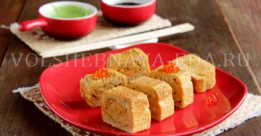 Японский омлет тамагояки