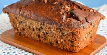 Банановый хлеб с шоколадом