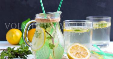Мятный лимонад в домашних условиях, рецепт