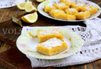 Лимонные пирожные или lemon bars