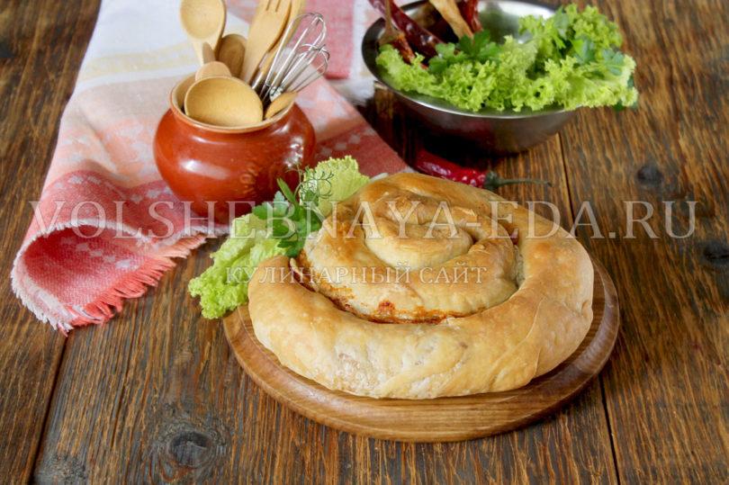 Вертута с мясом