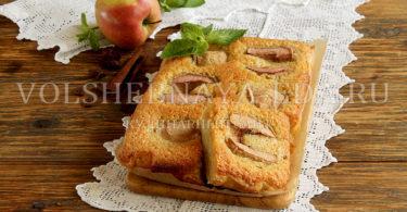 Яблочный франжипан