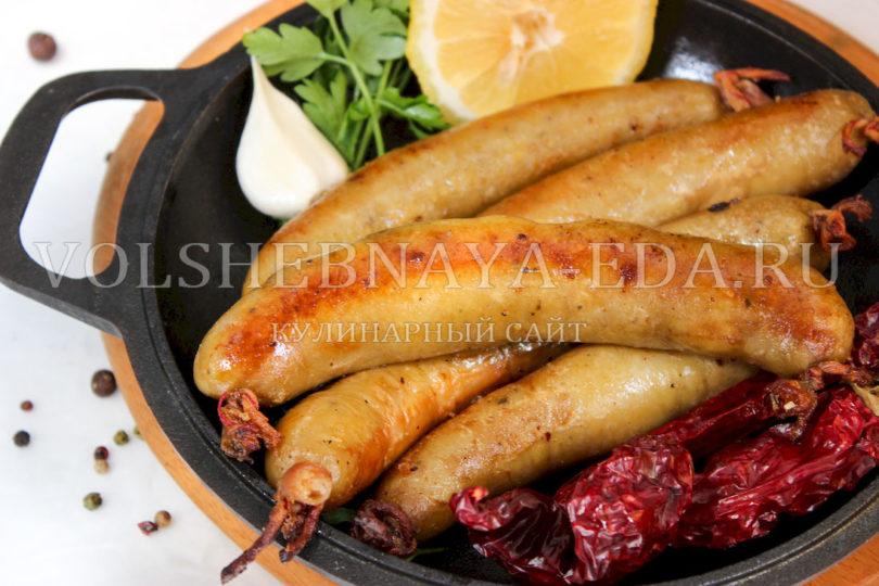 Картофельная колбаса