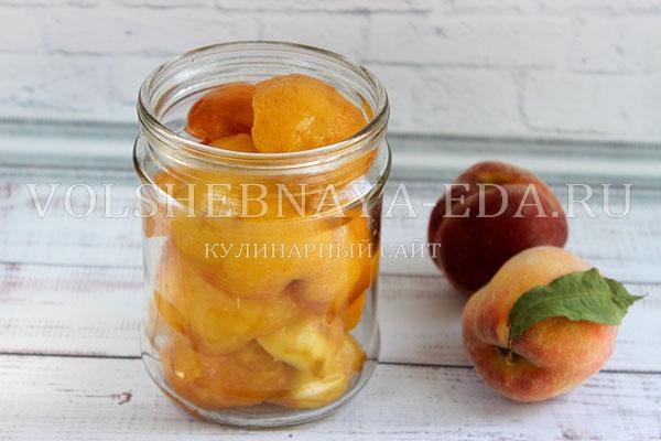 persiki v sirope na zimu 3