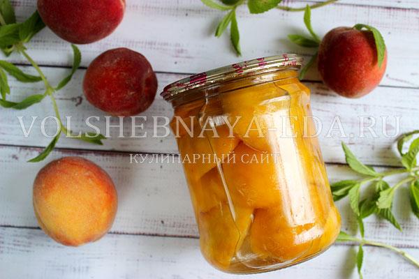 persiki v sirope na zimu 7
