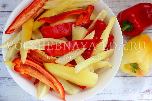 lecho iz perca i pomidor 1