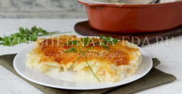 Картофельный гратен (дофинуа)