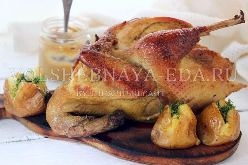 Курица в горчице в духовке