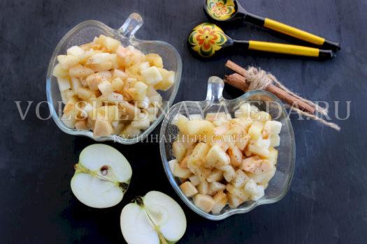 Как сохранить яблоки для пирогов