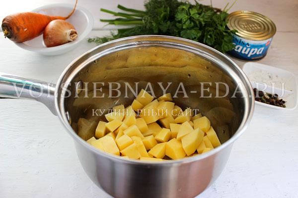 rybnyj sup iz konservov 1