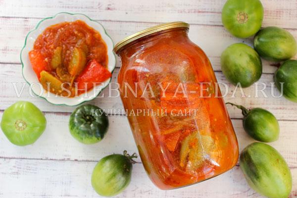 lecho iz zelenyh pomidorov 11