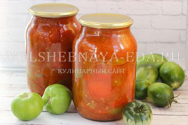 lecho iz zelenyh pomidorov 9