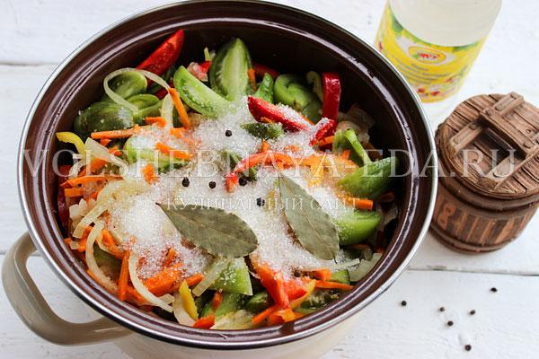 salat iz zelenyh pomidorov 5