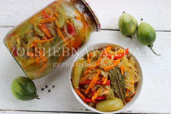 salat iz zelenyh pomidorov 7