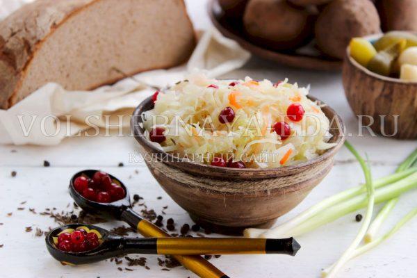 Как засолить квашеную капусту на зиму