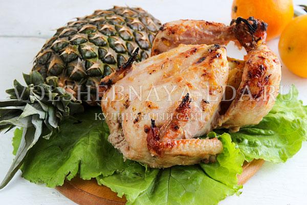 kurica s ananasami v duhovke 10