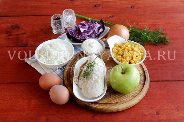 novogodnij salat rukavichka 1