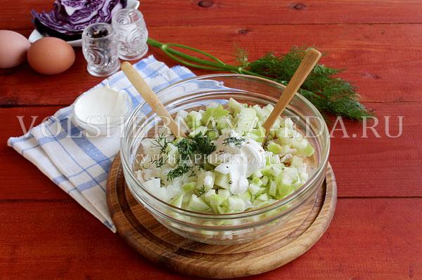 novogodnij salat rukavichka 5