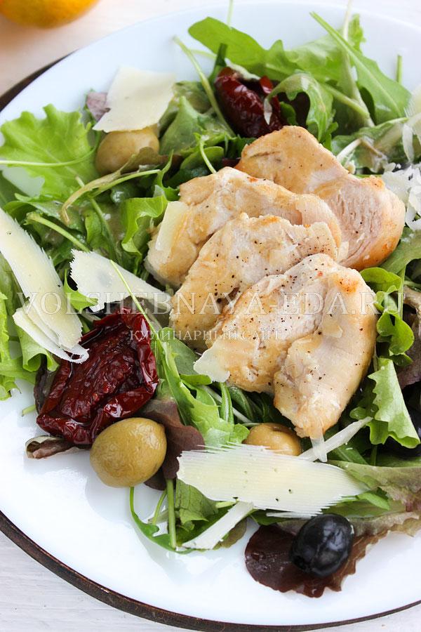 salat s kuricej pod gorchichnoj zapravkoj 12