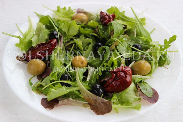 salat s kuricej pod gorchichnoj zapravkoj 4