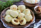 Чешские картофельные кнедлики с беконом