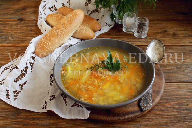 Геркулесовый суп