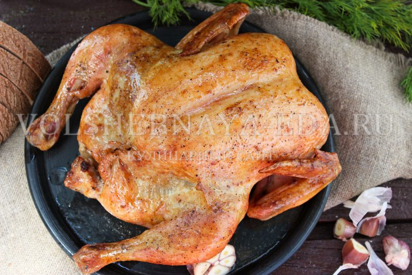 Курица по Блюменталю