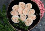 Кальмары, фаршированные крабовыми палочками и сыром