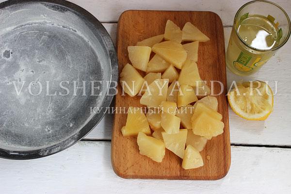 tart taten s ananasami 1