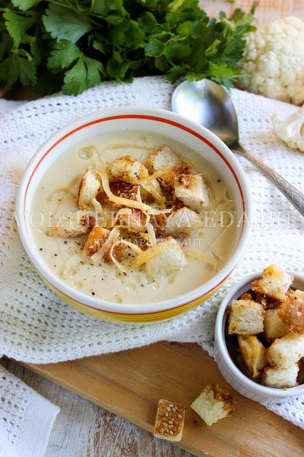 sup pyure iz cvetnoj kapusty s kabachkami 11