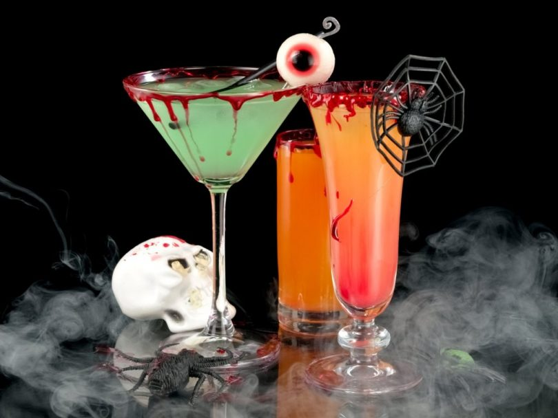 Коктейли на Хэллоуин