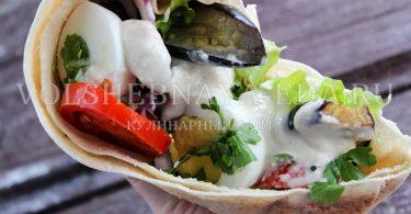 Сабих — израильская уличная еда