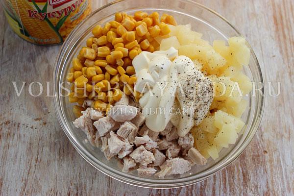 salat shapka snegurochki 3