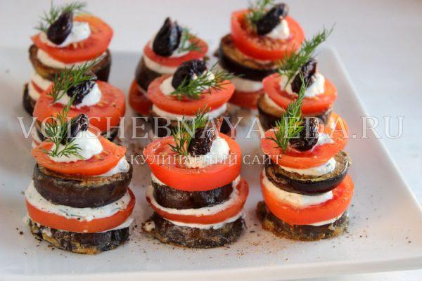 zakuska iz baklazhanov s pomidorami i chesnokom 10