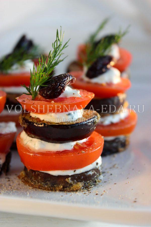 zakuska iz baklazhanov s pomidorami i chesnokom 11