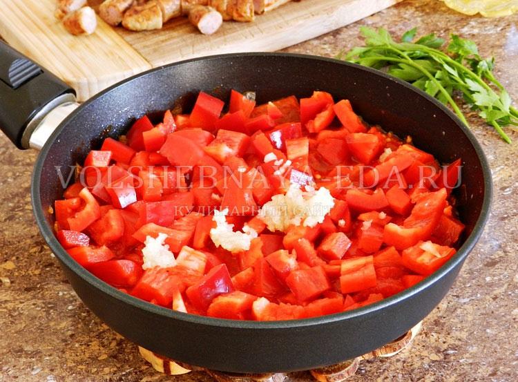 ostryj sup s pertsem, fasolyu i kolbaskami 9