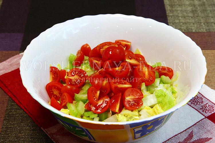 salat iz pekinskoj kapusty s kuritsej 3