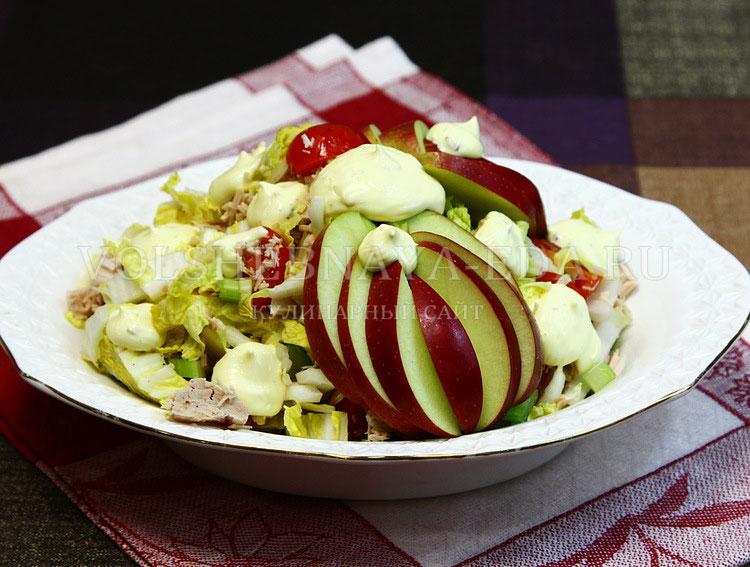 salat iz pekinskoj kapusty s kuritsej 7