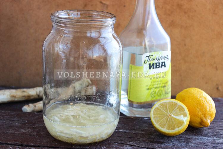 hrenovuha s medom i limonom 3