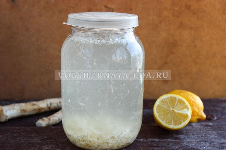 hrenovuha s medom i limonom 4