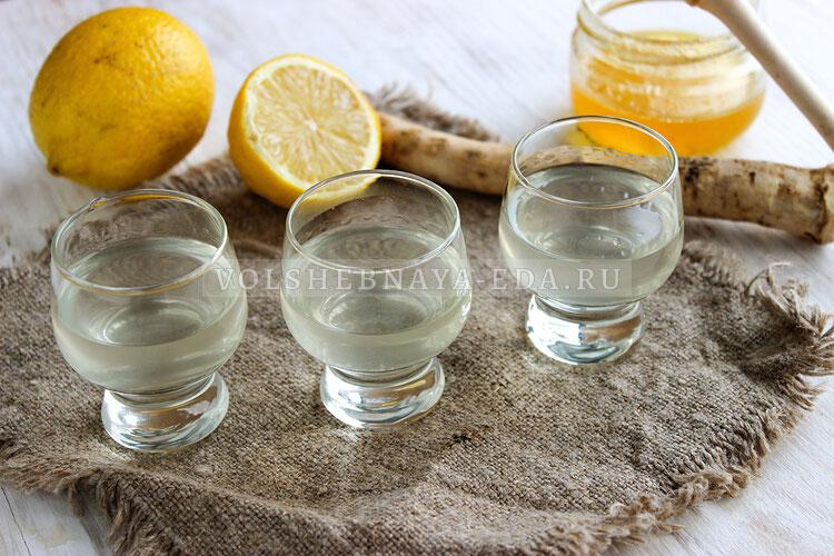hrenovuha s medom i limonom 6