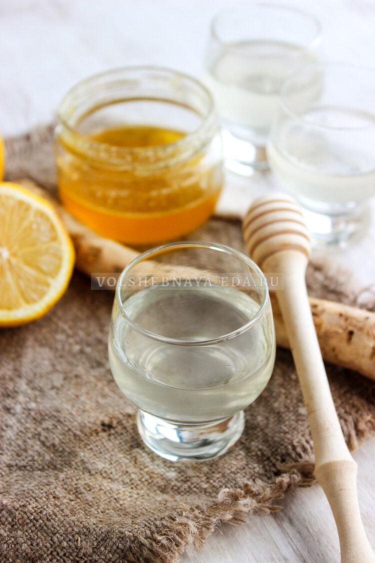 hrenovuha s medom i limonom 9