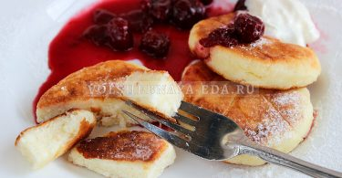Сырники — идеальный рецепт с манкой