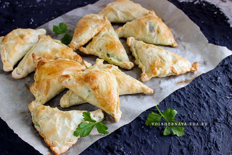 Пирожки по-гречески