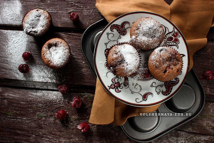 shokoladnye keksy s vishnej 9