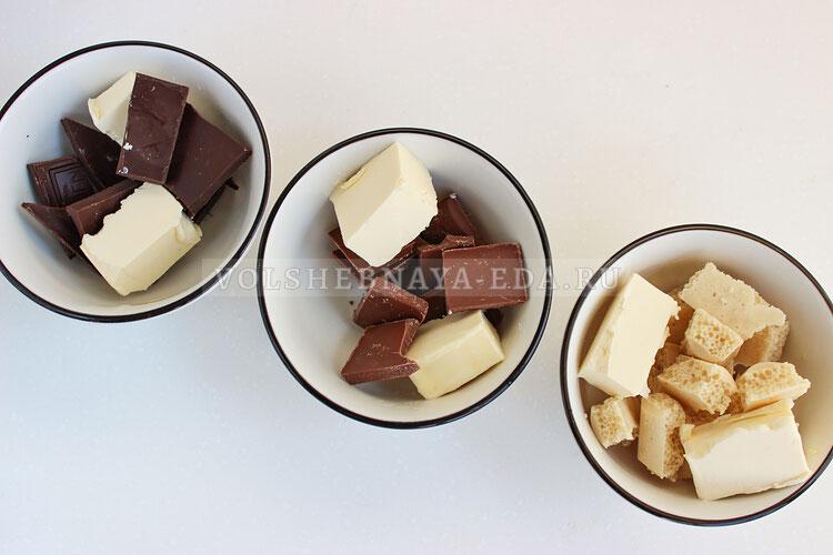 tvorozhnaya pasha tri shokolada 3