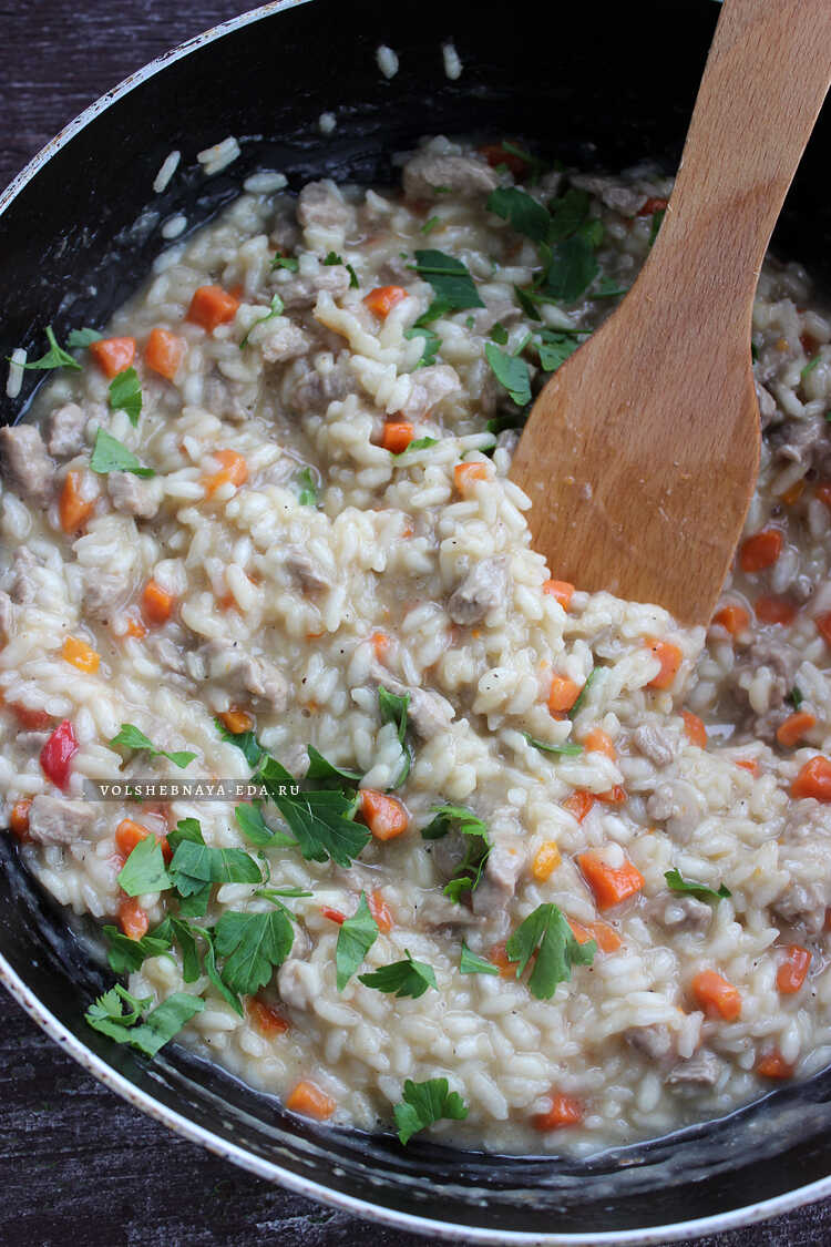 rizotto s govyadinoj i ovoshami 12