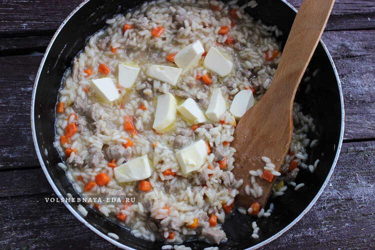 rizotto s govyadinoj i ovoshami 8