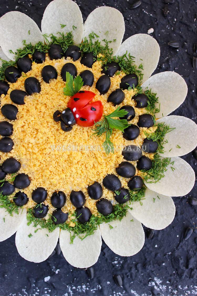 salat podsolnuh s pechenyu treski 13