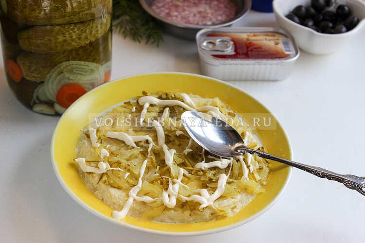 salat podsolnuh s pechenyu treski 3